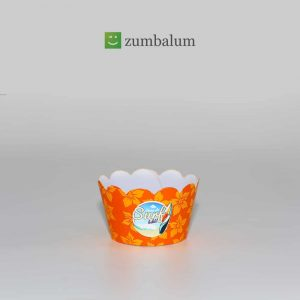 Wrapper mini Cupcake tema Surf – (20 unds.)